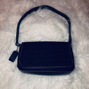 Coach black small purse